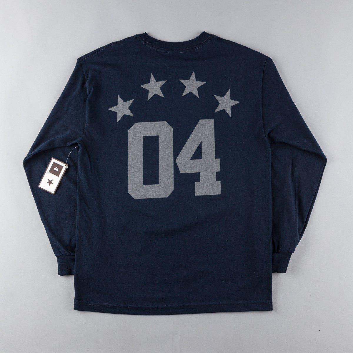 Fourstar Athletic Long Sleeve T-Shirt - Navy