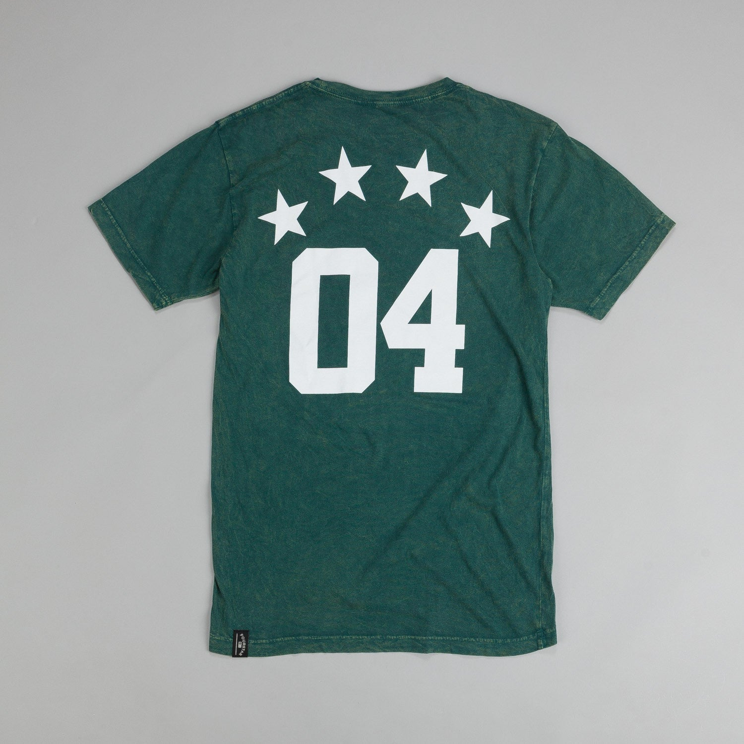 Fourstar Athletic Mineral Wash T Shirt Green