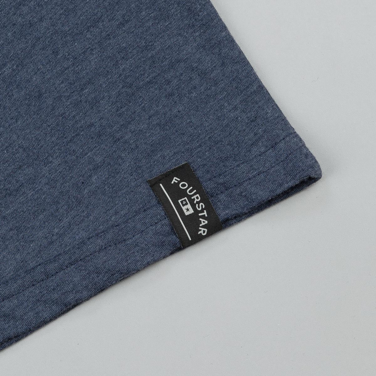 Fourstar Athletic Triblend T-Shirt - Navy
