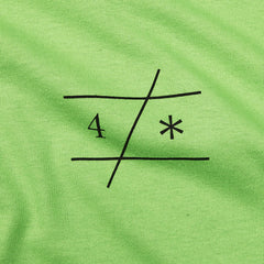 Fourstar Avant T Shirt Lime