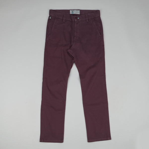 Fourstar Carroll Chino Trousers Merlot