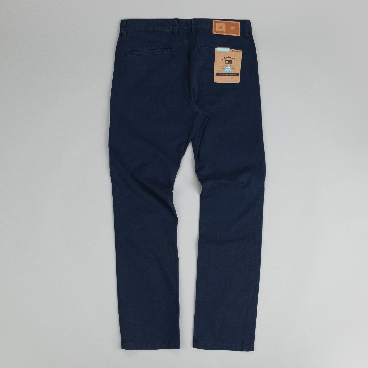 Fourstar Carroll Chino Trousers Navy