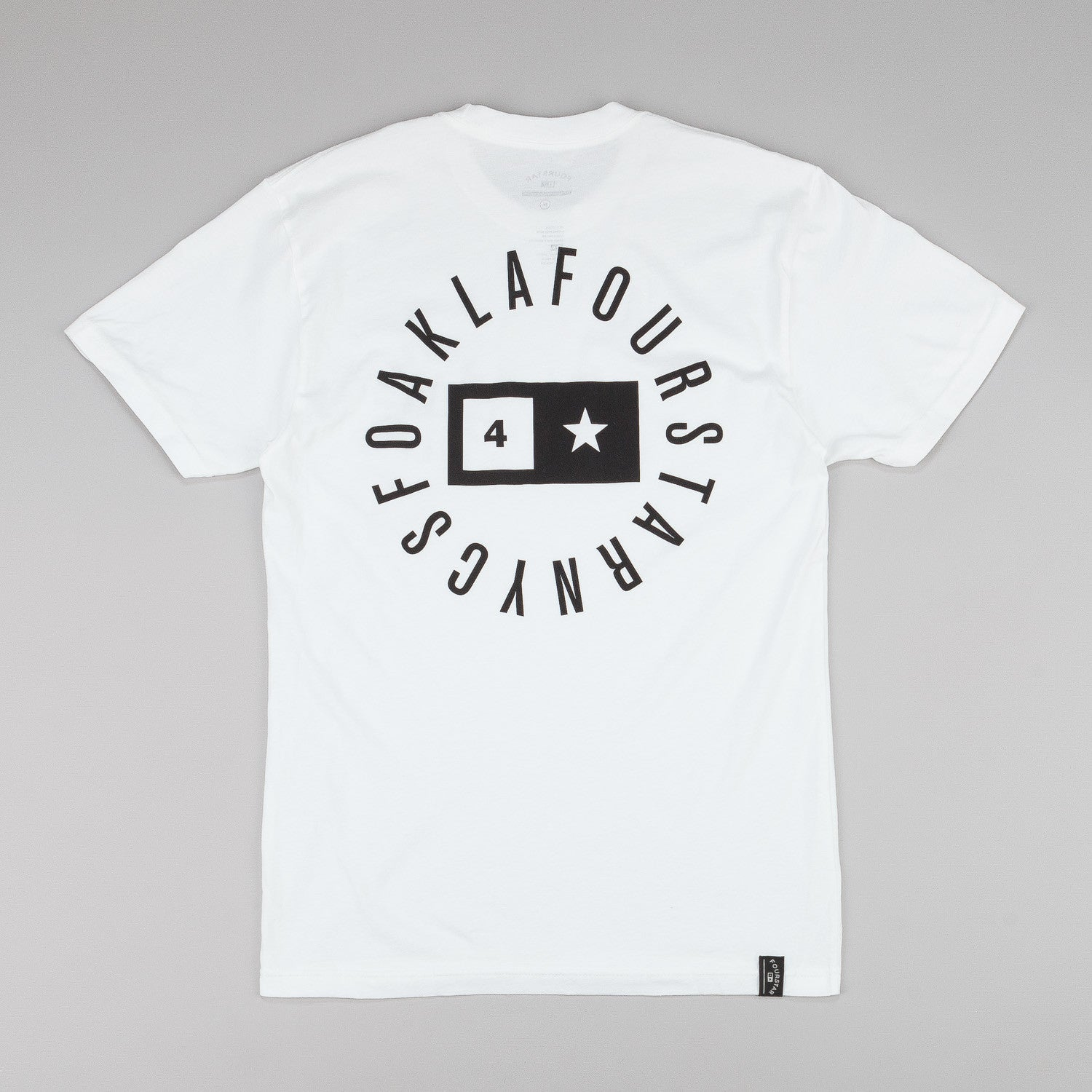 Fourstar Circle Bar T-Shirt - White