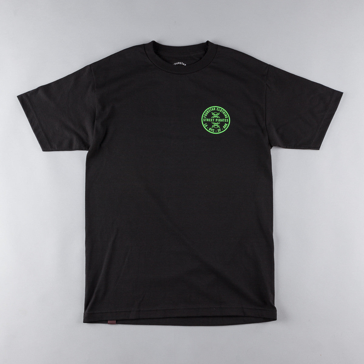 Fourstar Circle Patch FS116 T-Shirt - Black