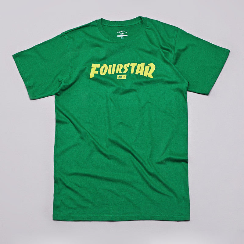 Fourstar Highspeed T Shirt Kelly Green