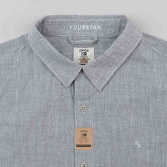 Fourstar Ishod Short Sleeve Shirt - Grey
