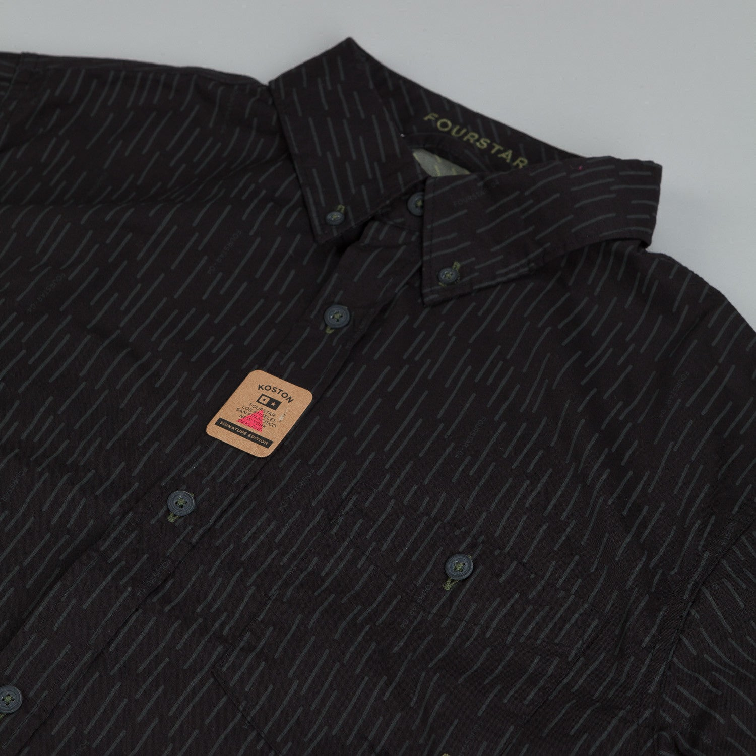 Fourstar Koston LS Shirt Black