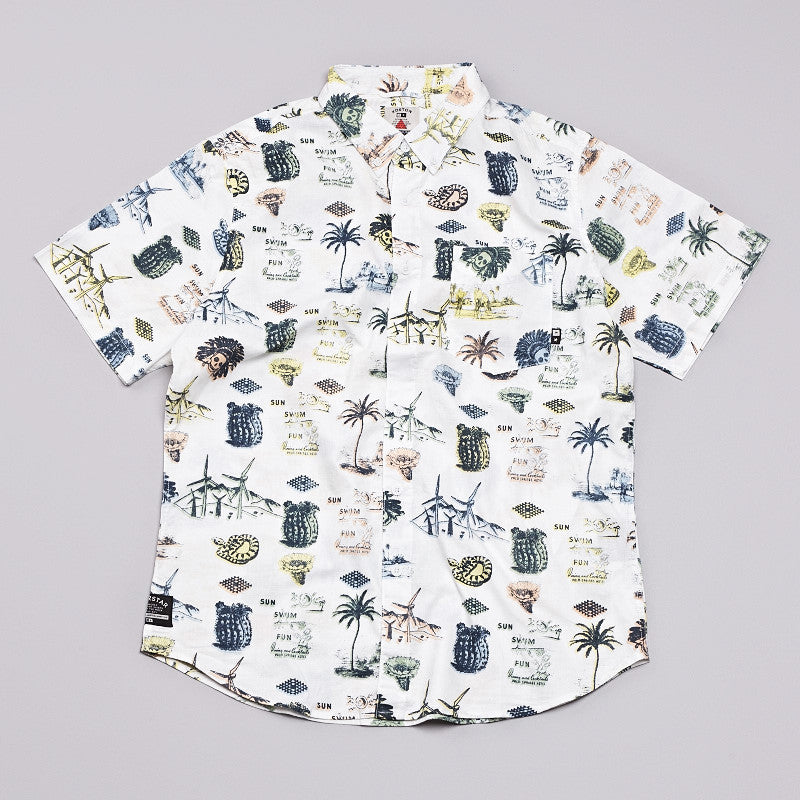 Fourstar Koston Signature SS Shirt White