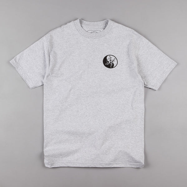 Fourstar Kung Fu T-Shirt - Athletic Heather Grey