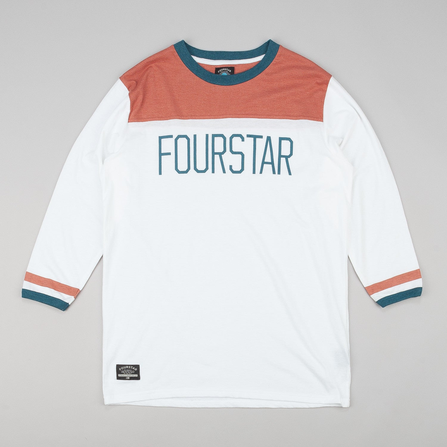 Fourstar League Football 3/4 Sleeve T-Shirt