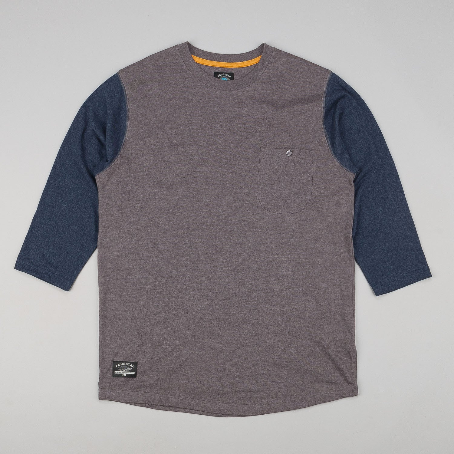 Fourstar Leavenworth 3/4 Sleeve Pocket T-Shirt