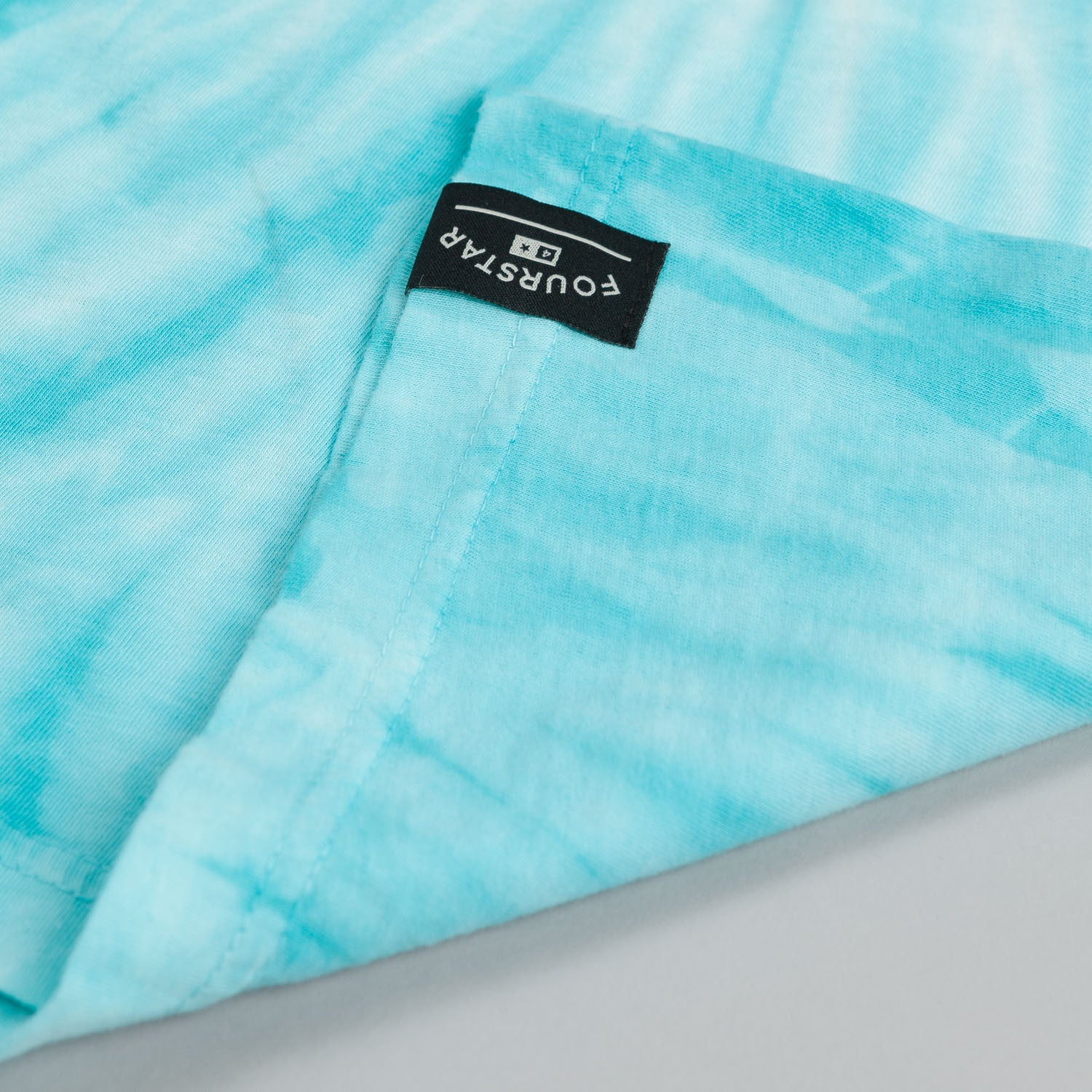 Fourstar Legend Tie Dye T Shirt Mint