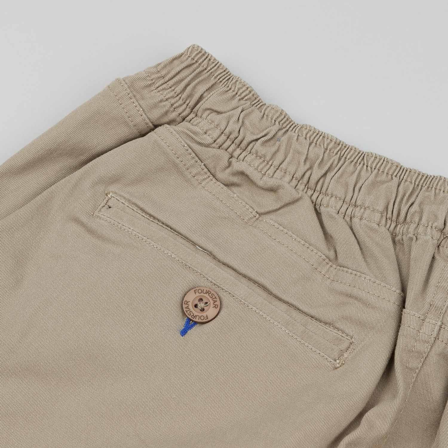 Fourstar Malto Drawcord Short - New Khaki