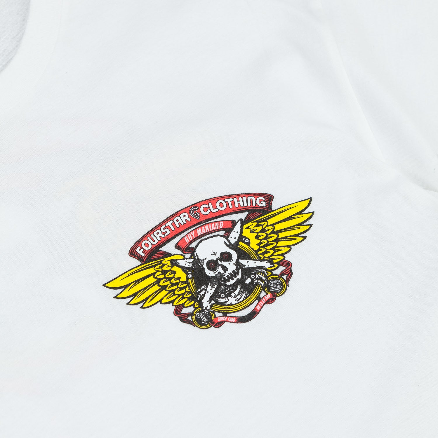 Fourstar Mariano Pirate T-Shirt - White