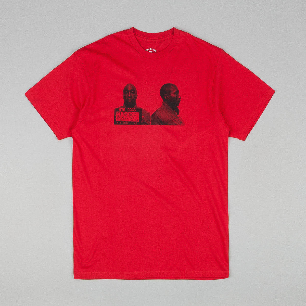 Fourstar Mugshots T Shirt Red