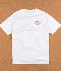 Fourstar Oval Type T-Shirt - White