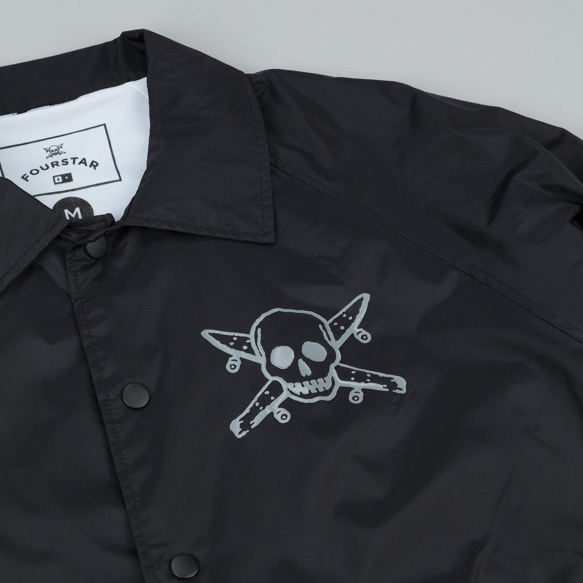 Fourstar Pirate Coach Jacket - Black