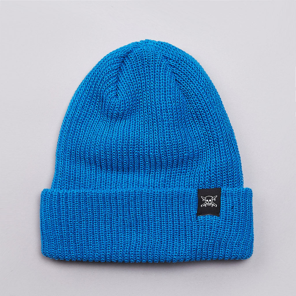 Fourstar Pirate Beanie Blue