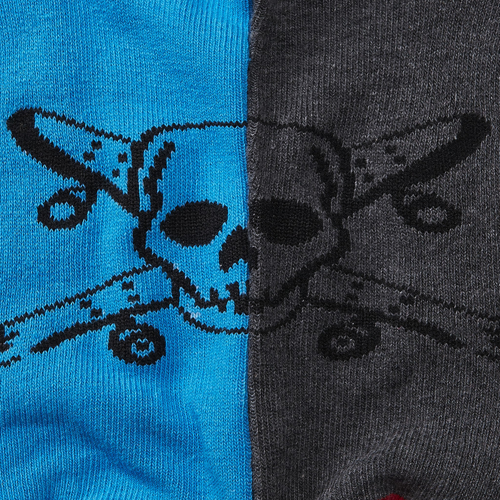 Fourstar Pirate Socks Low - 2 Pack