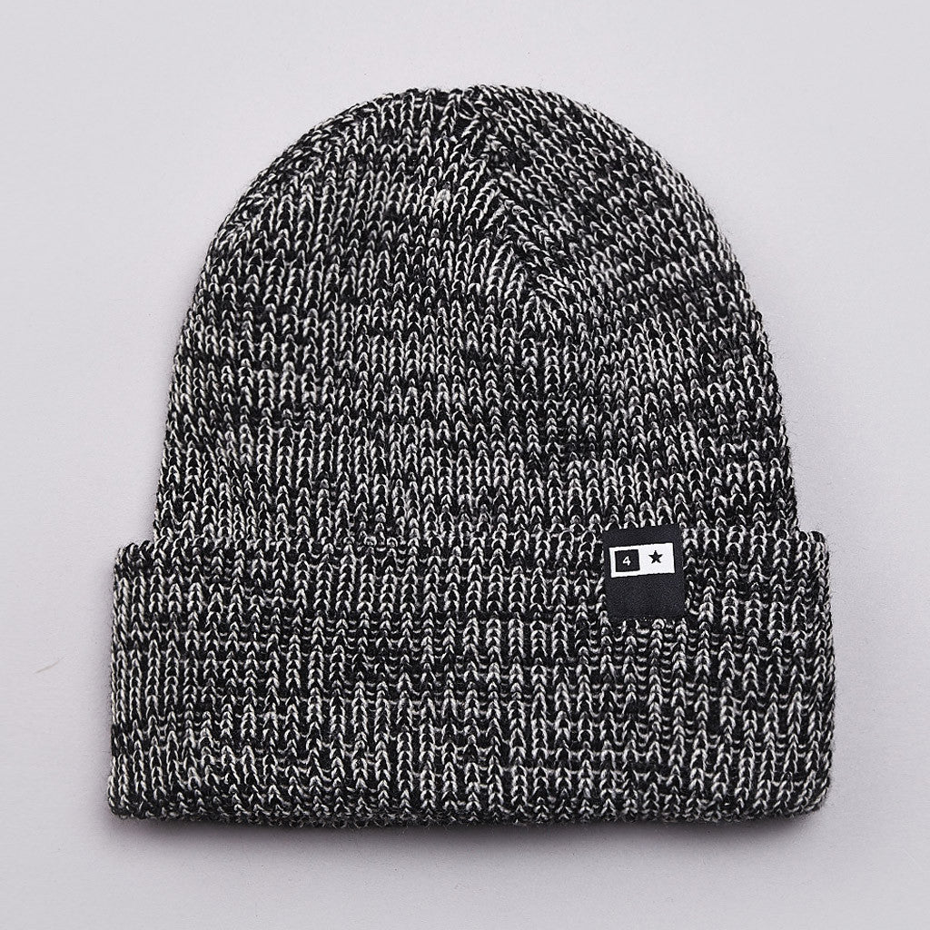 Fourstar Slub Bar Beanie Black