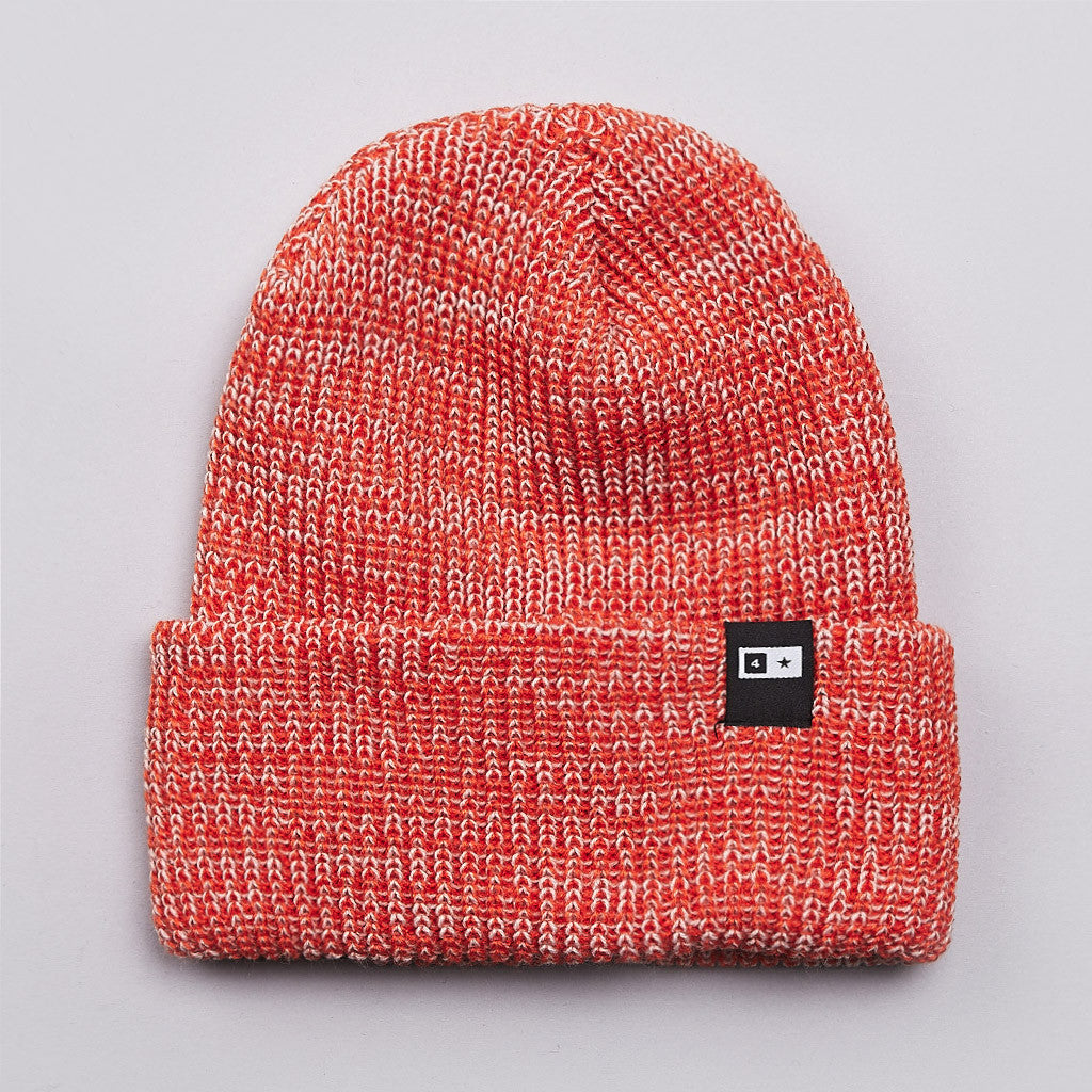 Fourstar Slub Bar Beanie Orange