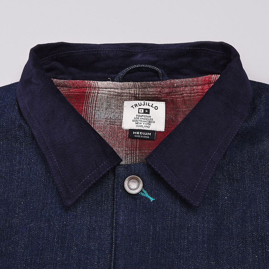 Fourstar Trujillo Signature Jacket Indigo