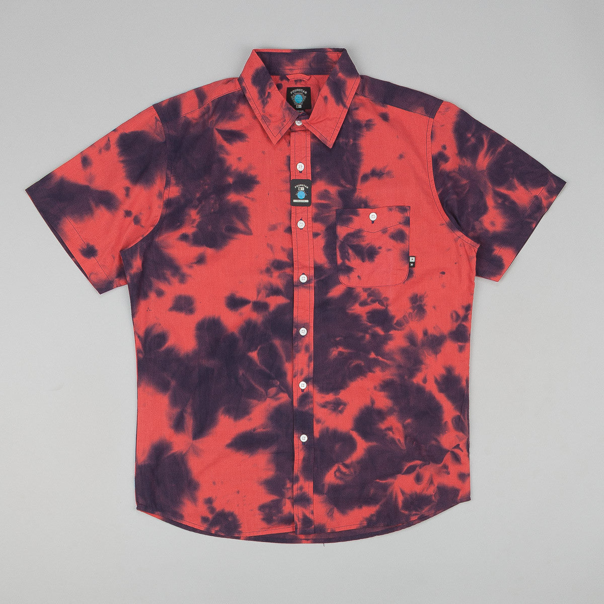Fourstar Venkat SS Shirt Red