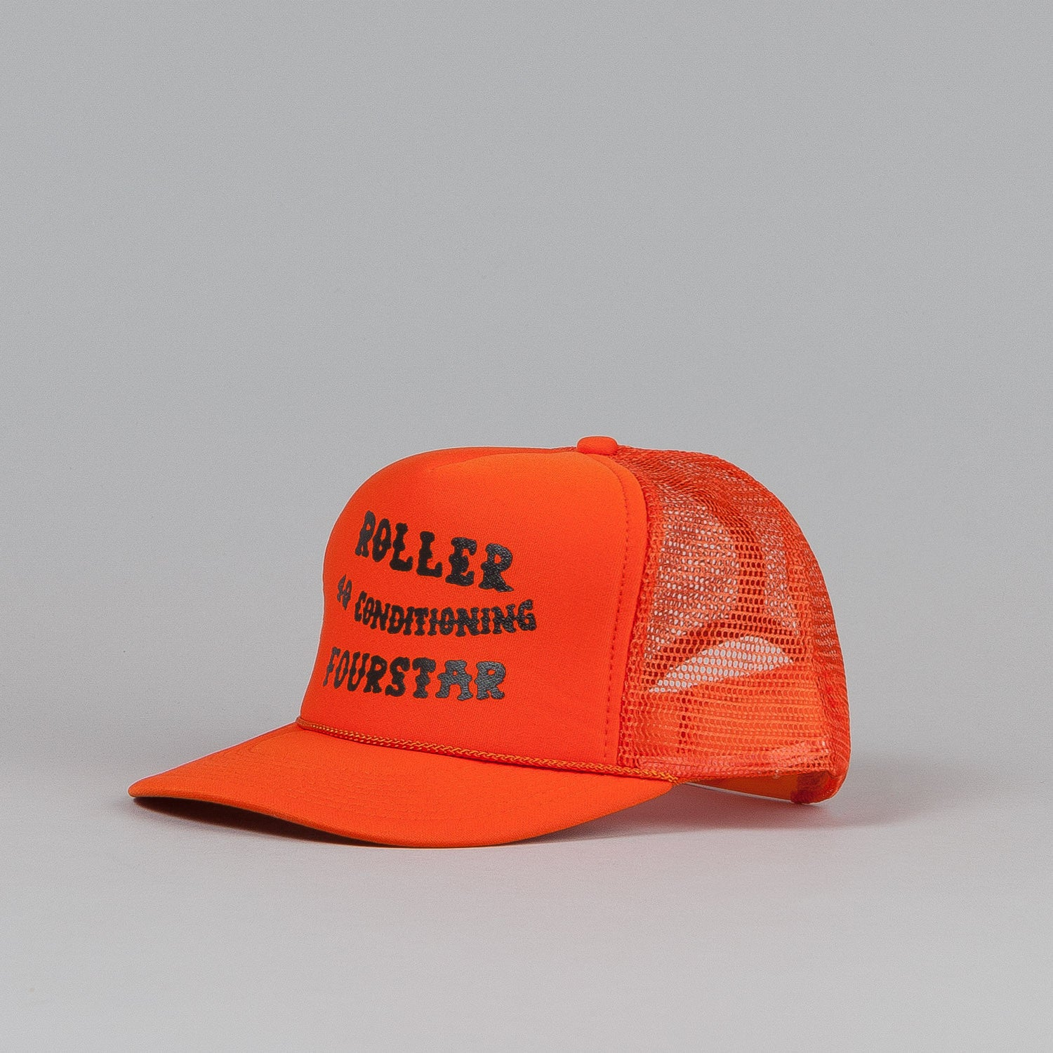 Fourstar x 4Q x Roller Trucker Cap Orange