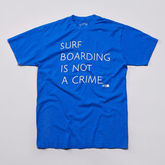 Brothers Marshall Crime Bro T Shirt Royal Blue