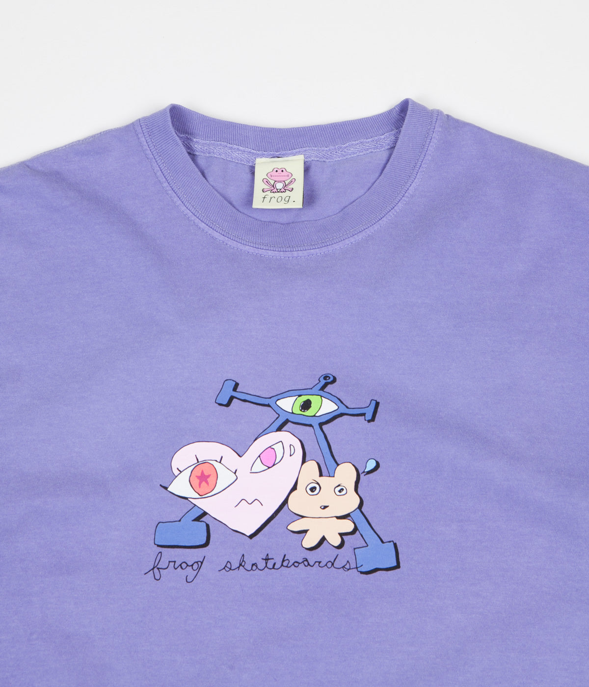 Frog Is Wired T-Shirt - Purple