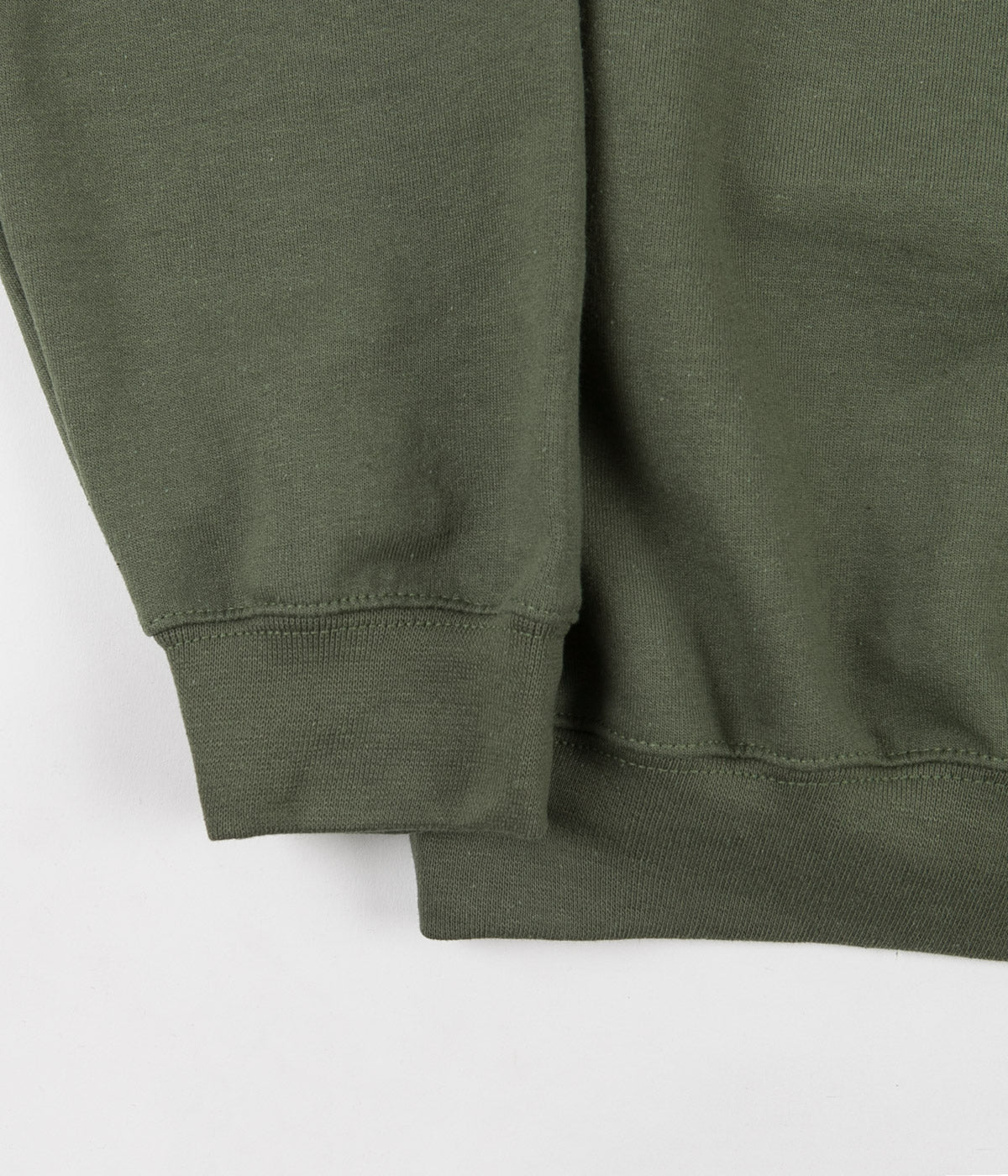 Frog Napkin Friend Crewneck Sweatshirt - Army