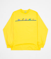 Frog Skateboards Characters Long Sleeve T-Shirt - Yellow
