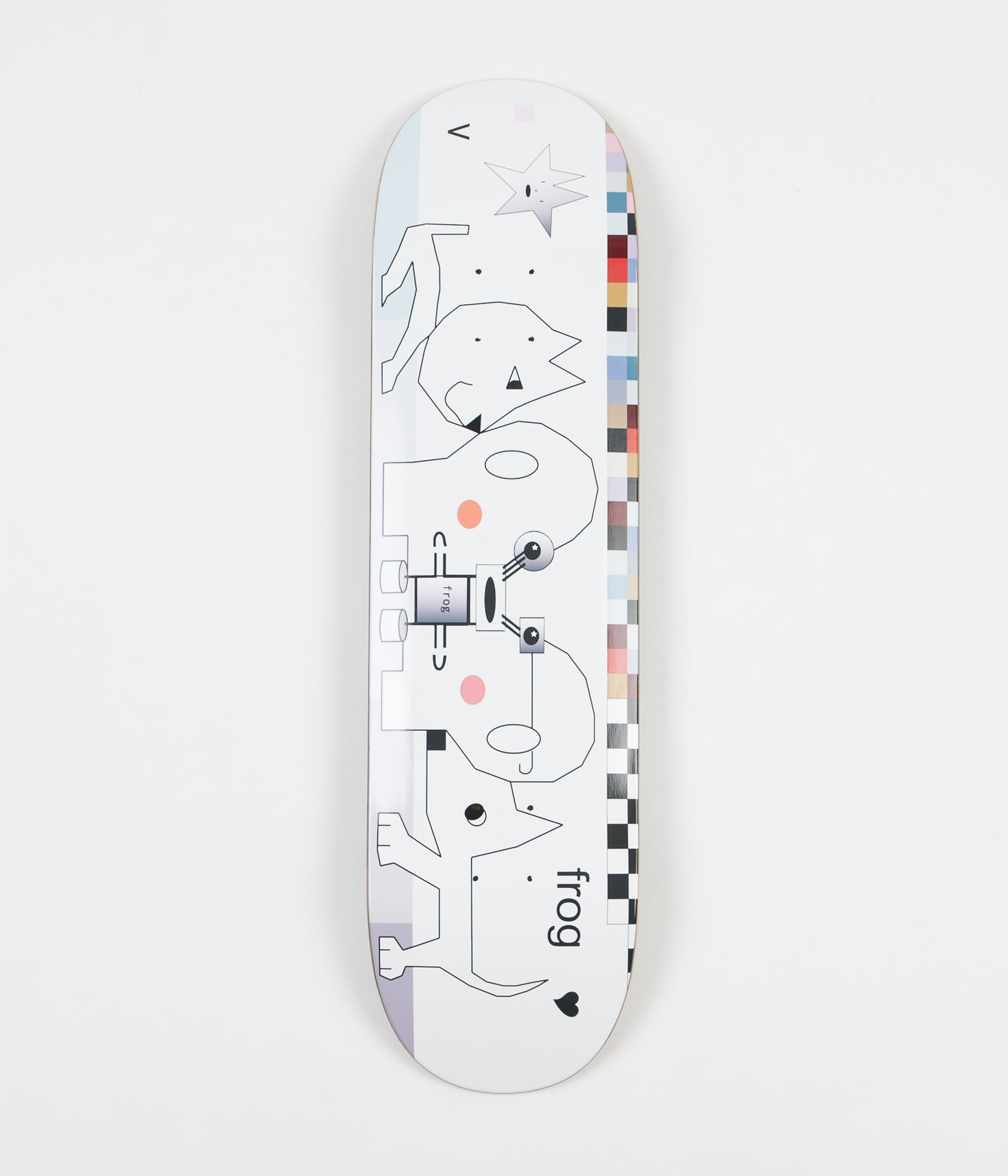 Frog Skateboards Computer Deck - 8.25""