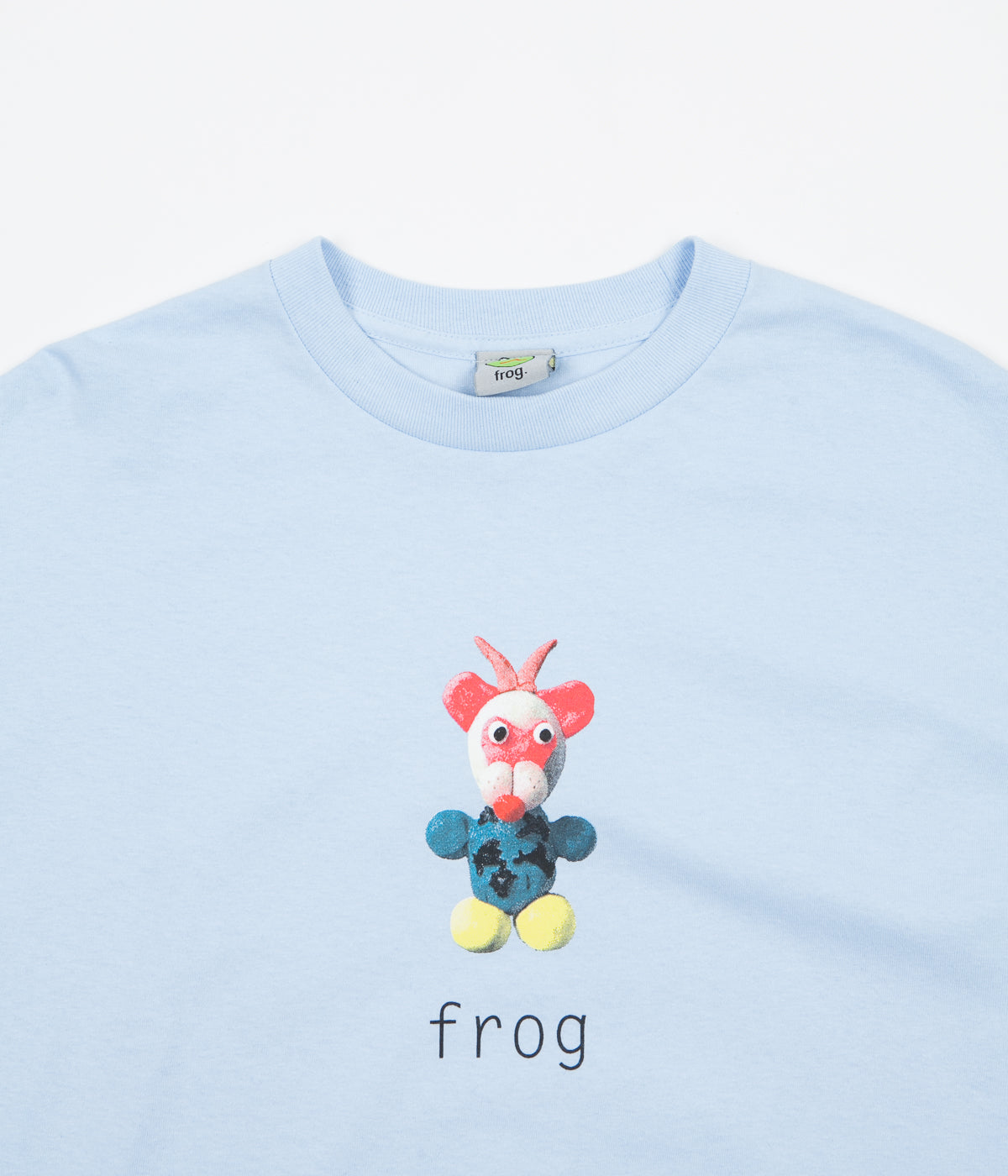 Frog Skateboards Greg Long Sleeve T-Shirt - Baby Blue