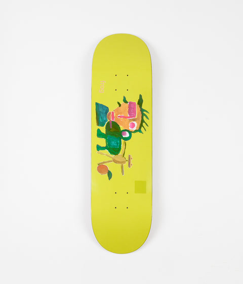 Frog Skateboards Painting Deck - Yellow - 8.6""