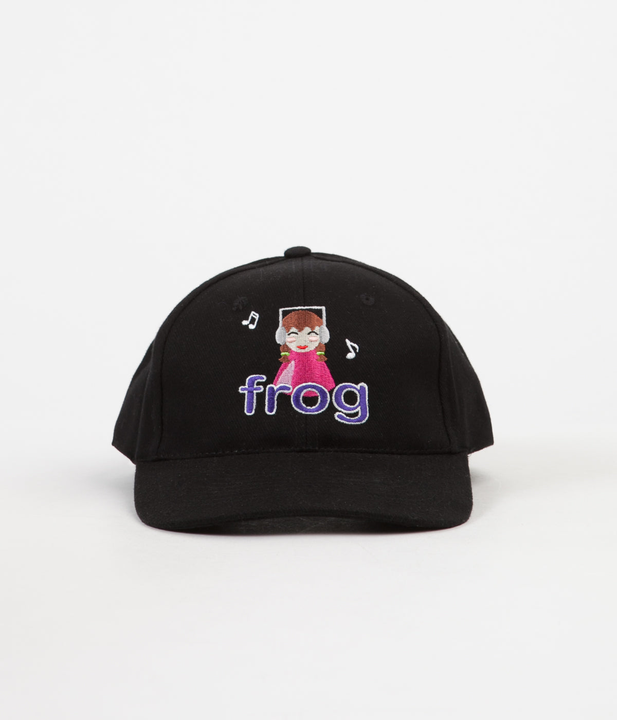Frog Skateboards Sounds Good To Me Cap - Black