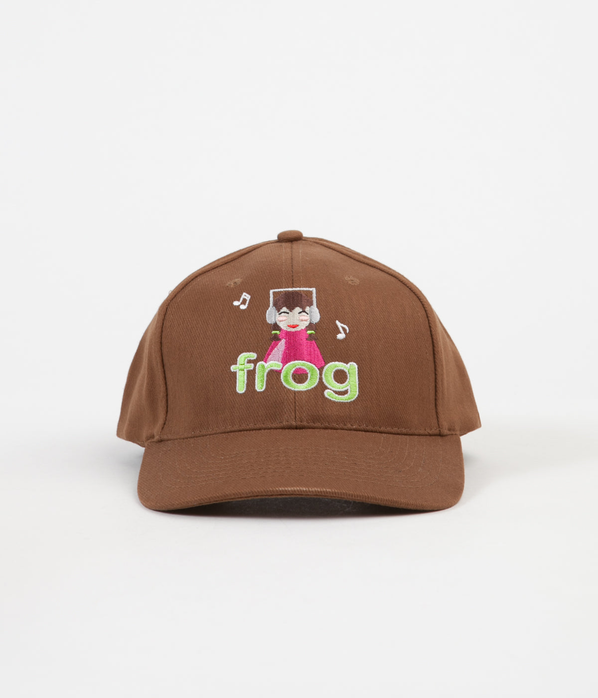 Frog Skateboards Sounds Good To Me Cap - Brown