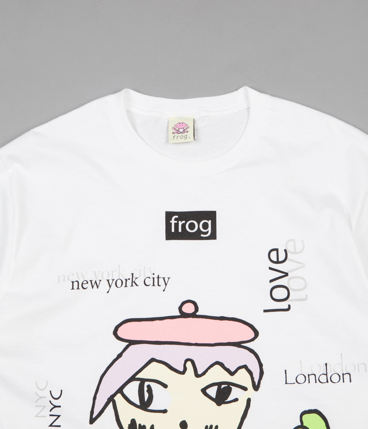 Frog World Wide Love T-Shirt - White