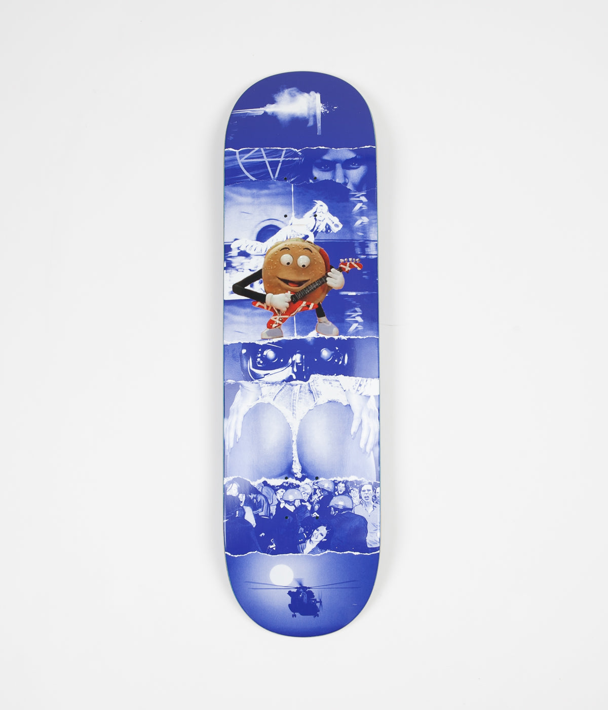 Fucking Awesome AVE Burger Deck - Blue - 8.5""