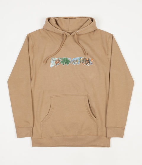 Fucking Awesome Battlefield Hoodie - Cream