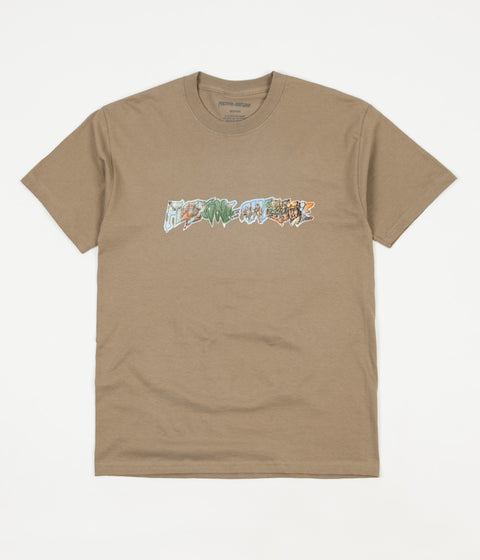 Fucking Awesome Battlefield T-Shirt - Brown