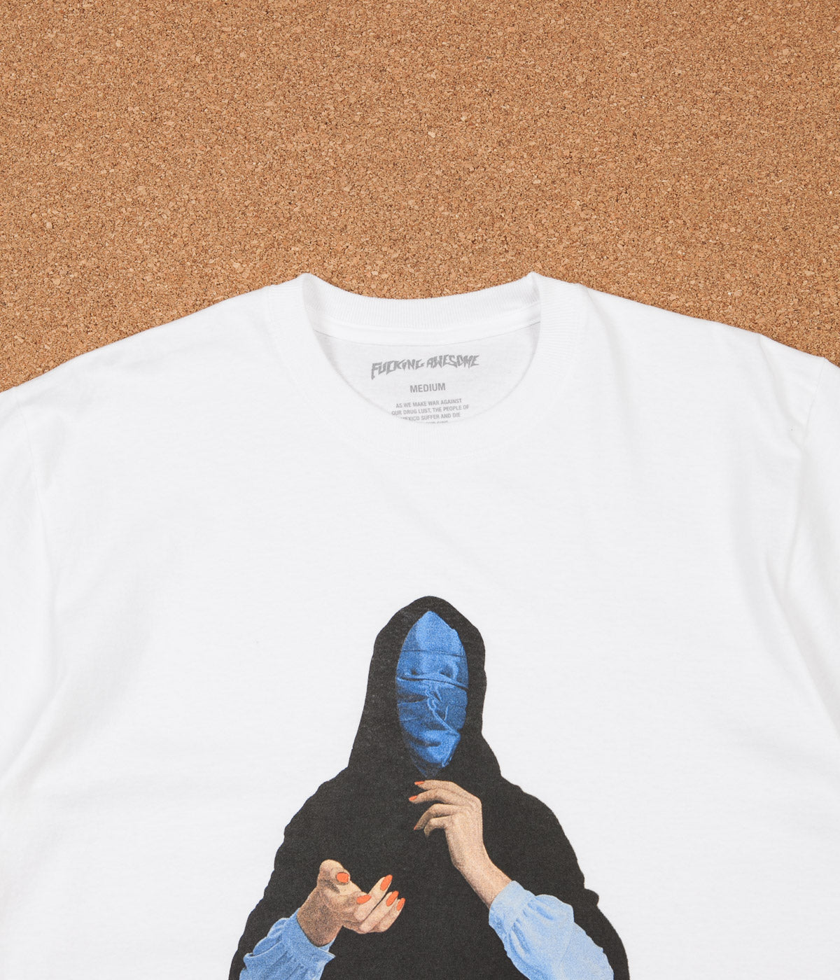 Fucking Awesome Blue Veil T-Shirt - White