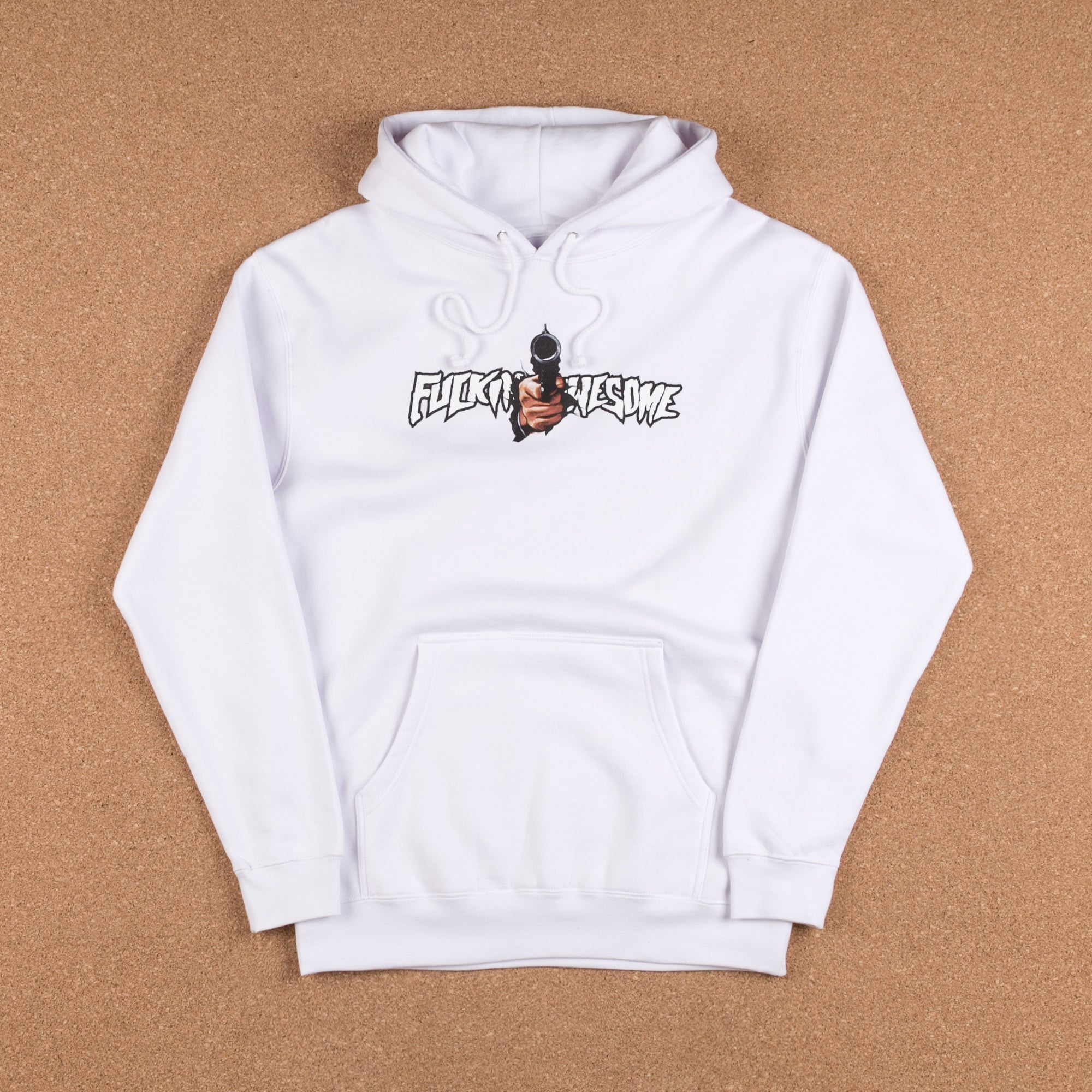 Fucking Awesome Breakthru Hooded Sweatshirt - White