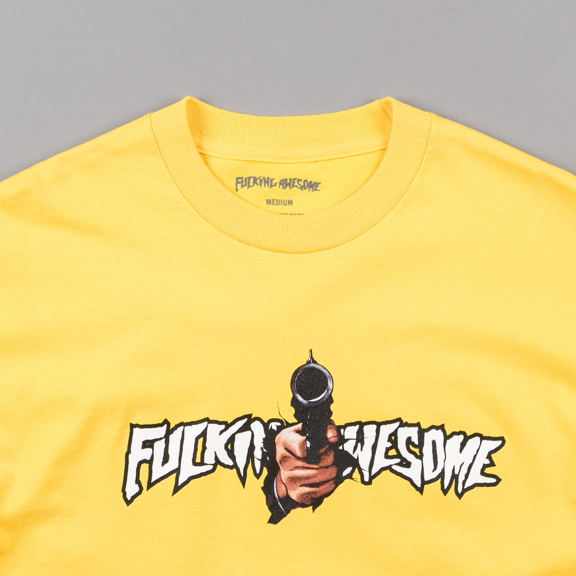 Fucking Awesome Breakthru T-Shirt - Yellow