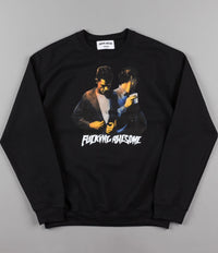Fucking Awesome Brothers Crewneck Sweatshirt - Black