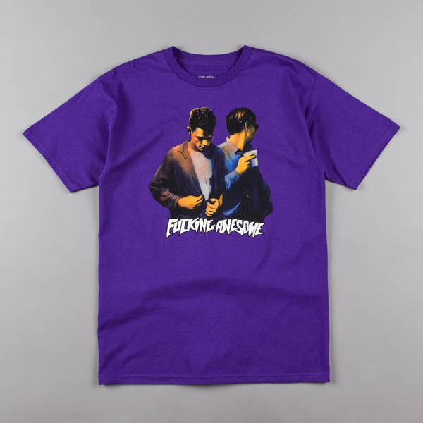 Fucking Awesome Brothers T-Shirt - Purple