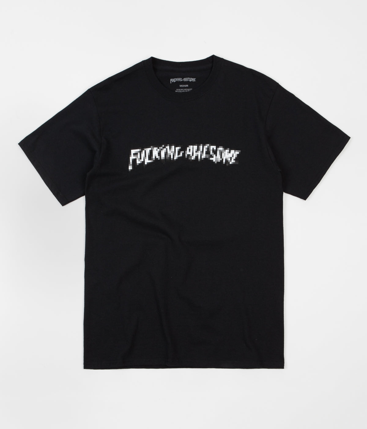 Fucking Awesome Censored T-Shirt - Black