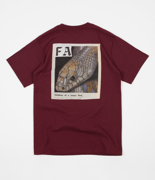 Fucking Awesome Children Of A Lesser God T-Shirt - Maroon