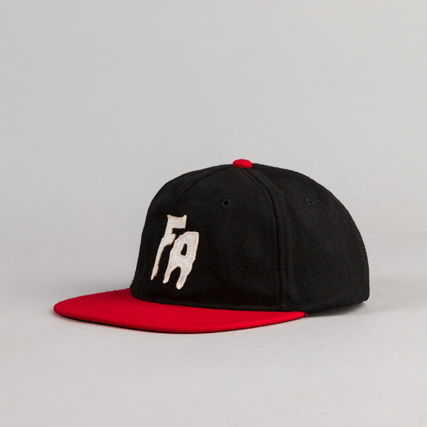 Fucking Awesome Classic FA Cap - Black / Red