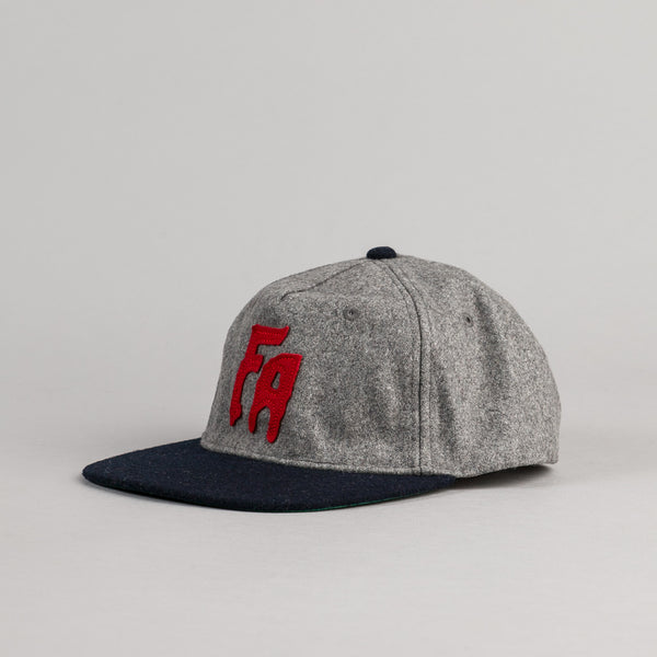 Fucking Awesome Classic FA Cap - Grey / Navy